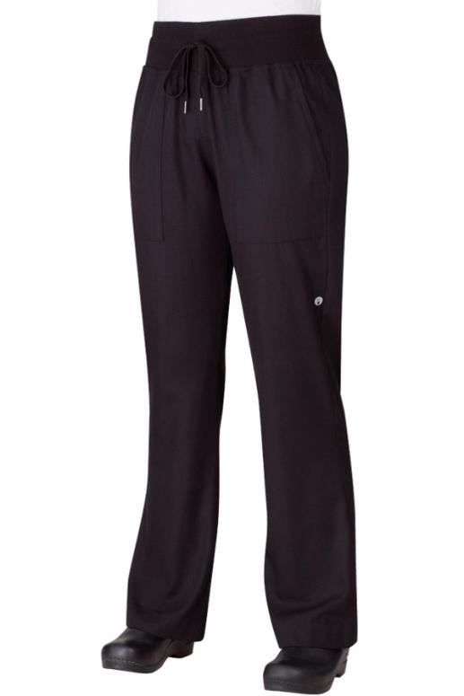 Pantalón de Dama Comfi Negro (PW004BLK)