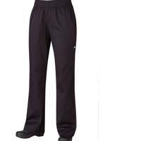 Pantalon negro básico para dama (PW005BLK)